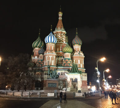 Jeremy Thal in Russia